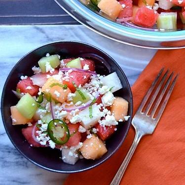 Melon Cucumber and Jicama Slaw Recipe   SideChef