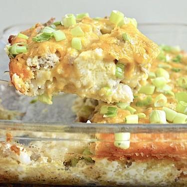 Low-Carb Breakfast Casserole Recipe | SideChef