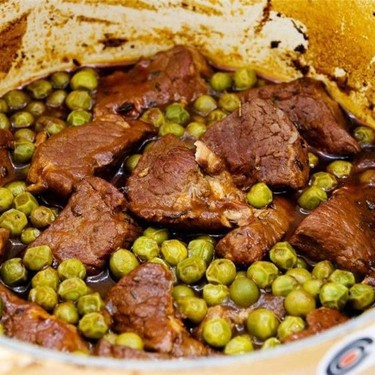 Beef Stew with Peas Recipe   SideChef