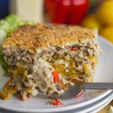 Venezuelan Tuna & Fried Plantain Bake Recipe   SideChef