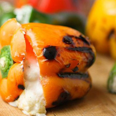 Cheese-Stuffed Peppers Recipe   SideChef
