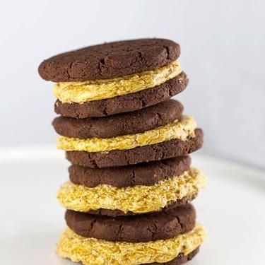 Pumpkin Cream Cookie Sandwiches Recipe | SideChef