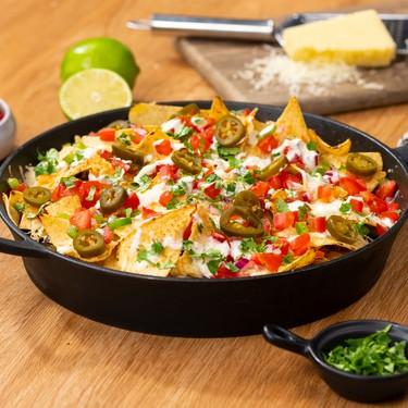 Skillet Veggie Nachos Recipe | SideChef