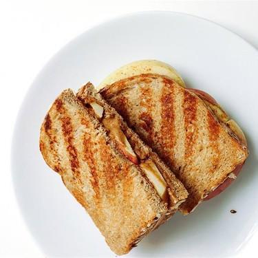 Grilled Peanut Butter & Apple Sandwich Recipe | SideChef