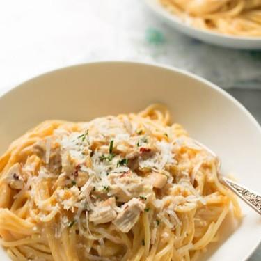 Pumpkin Alfredo Sauce Pasta Recipe | SideChef