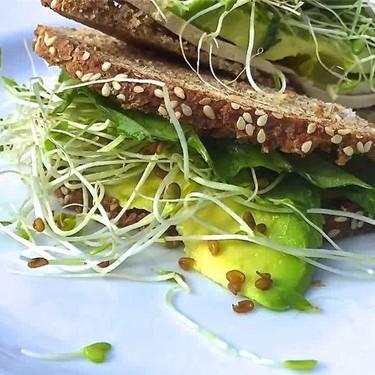 Sprouted Tofu Sandwich Recipe   SideChef