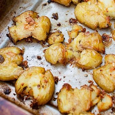 Super Crispy Smashed Potato Recipe | SideChef