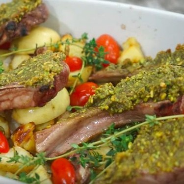 Pistachio Grilled Lamb Chops Recipe | SideChef