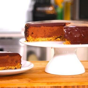 Triple Chocolate Mousse Cake Recipe   SideChef