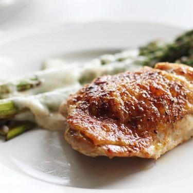 Cajun Butter Baked Chicken Thighs Recipe   SideChef