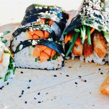 Mexican Vegan Sushi Rolls Recipe | SideChef