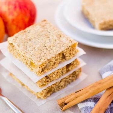 Apple & Cinnamon Oat Bars Recipe | SideChef