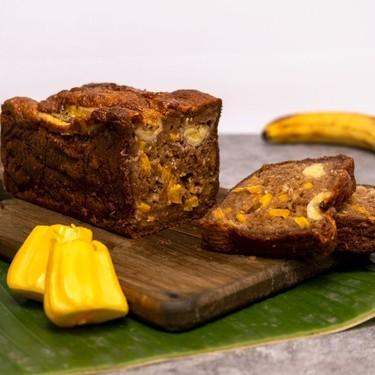 Banana & Jackfruit Bread Made with Cassava Flour Recipe | SideChef