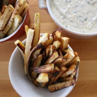 Parsnip Fries with Dip Recipe | SideChef