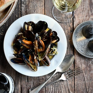 Mussels with Parsnip and Parmesan Recipe | SideChef
