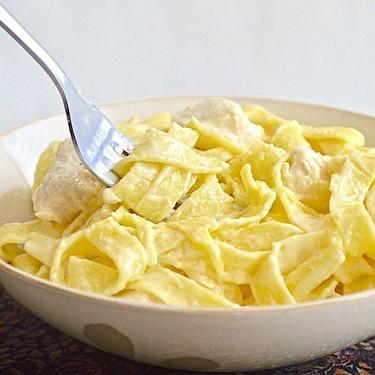 Lemon Thyme Chicken Alfredo Recipe | SideChef