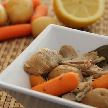 Rainy Day Stewed Chicken & Veggies Recipe | SideChef
