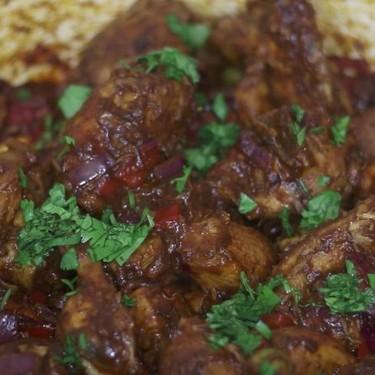 Dominican Stewed Chicken Recipe | SideChef