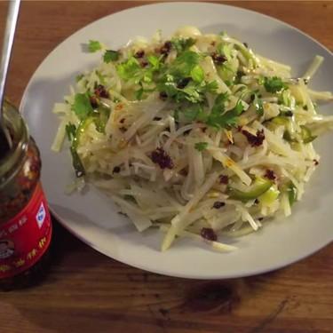Spicy and Sour Chinese Potato (酸辣土豆絲) Recipe | SideChef