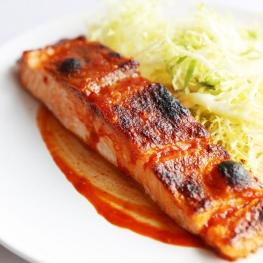 Salt Broiled Salmon with Daikon and Frisee Salad Recipe   SideChef