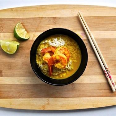 Yellow Curry Shrimp Recipe   SideChef
