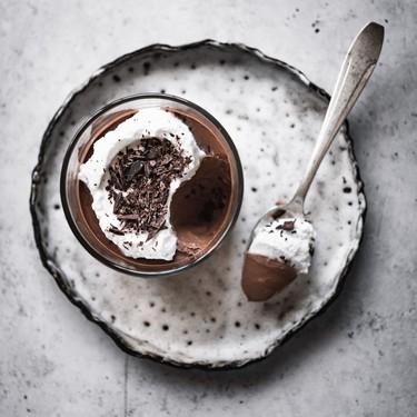 Two Ingredient Chocolate Pots de Creme Recipe   SideChef