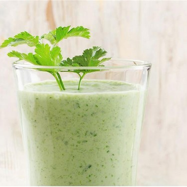 Dr. Oz Sexy Cilantro Green Smoothie Recipe   SideChef