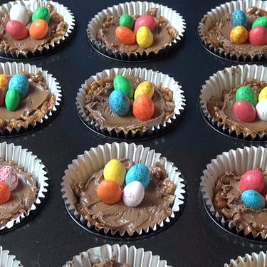 Chocolate Easter Nests Recipe | SideChef