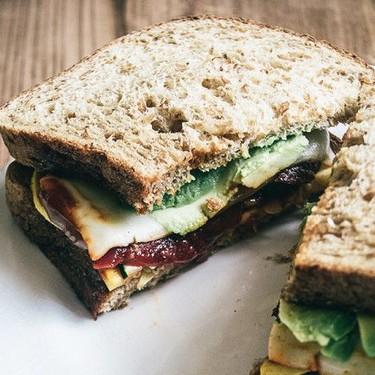Roasted BBQ Veggie and Avocado Sandwich Recipe   SideChef