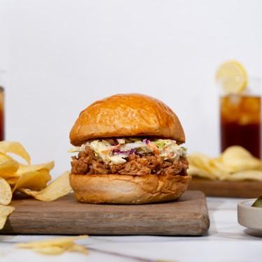 5-Ingredient BBQ Chicken Sandwich with Ranch Slaw Recipe   SideChef