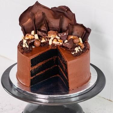Chocolate Cake with Chocolate Buttercream Sail Recipe   SideChef