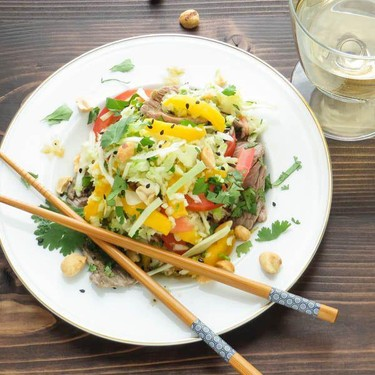 Lime Beef Salad Recipe   SideChef