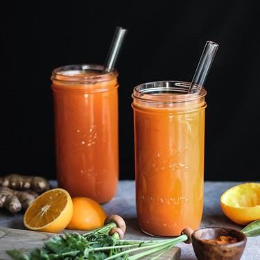 Carrot-Orange Juice with Ginger & Cayenne Recipe   SideChef