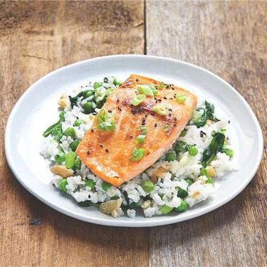 Miso Salmon with Coconut Basmati Rice Recipe   SideChef