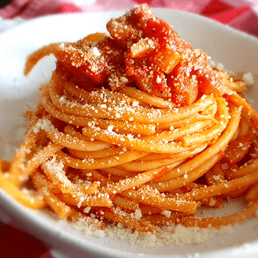 Bucatini all'Amatriciana Recipe | SideChef