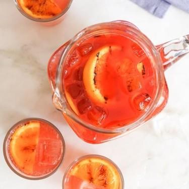 Bourbon Campari Punch Recipe | SideChef