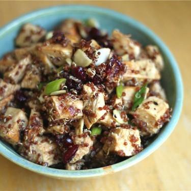 Quinoa-Cranberry Grilled Chicken Salad Recipe | SideChef