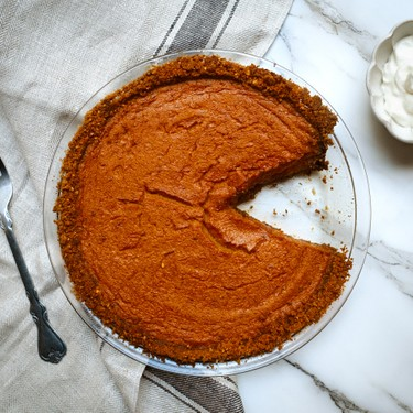 Most Perfect Pumpkin Pie Recipe   SideChef