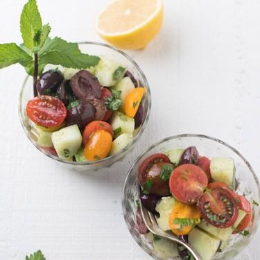 Mediterranean Cucumber Salad Recipe | SideChef