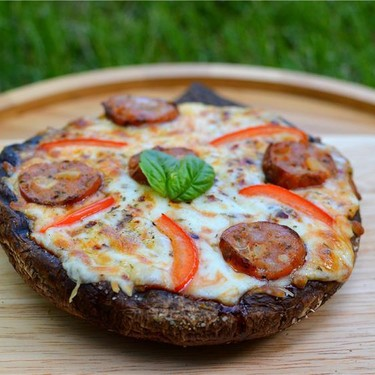 Grilled Portobello Mushroom Pizza Recipe | SideChef