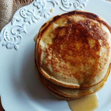Low-Fat Eggnog Pancakes Recipe | SideChef
