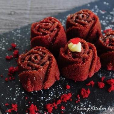 Red Velvet Rose Cupcakes Recipe | SideChef