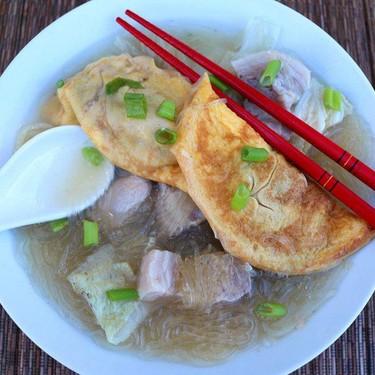 Chinese New Year Egg Dumpling Soup Recipe | SideChef