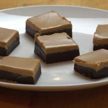 3 Ingredient Chocolate Peanut Butter Fudge Recipe   SideChef
