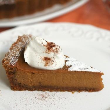 Pumpkin Tart with Cookie Butter Crust Recipe | SideChef