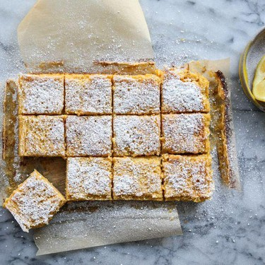 Paleo Lemon Bars with Almond Flour Crust Recipe   SideChef