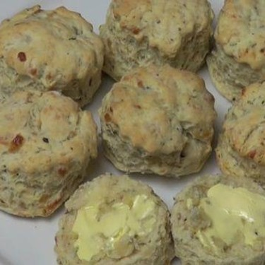 Cheese and Herb Scones Recipe | SideChef