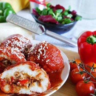 Gluten Free Beef Filled Polenta Balls Recipe | SideChef