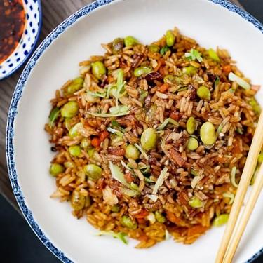 Mixed Mushrooms and Edamame Fried Rice Recipe   SideChef
