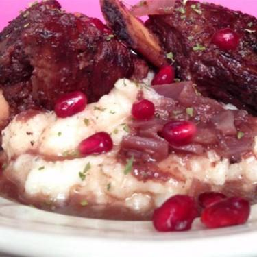 Pomegranate Braised Short Ribs Recipe | SideChef